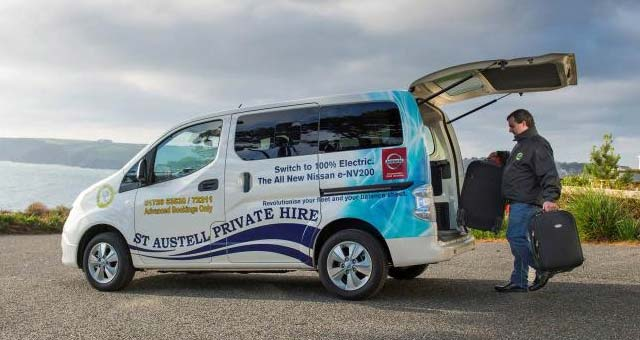 Taxi Company Hails New Nissan e-NV200 Combi