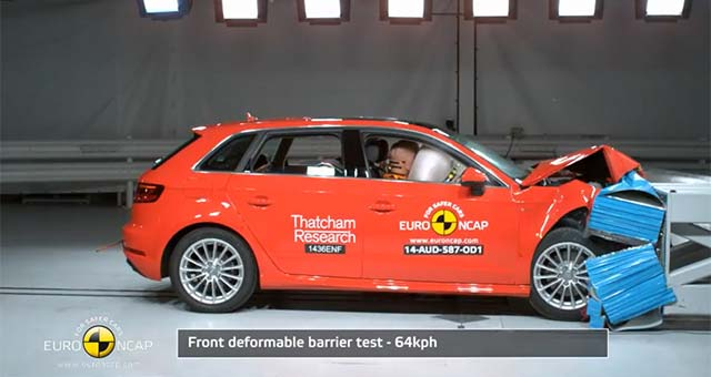 Audi A3 Sportback e tron Earns Five Star Rating from Euro NCAP