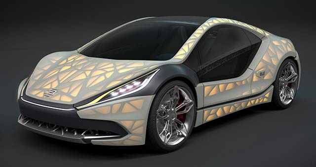 EDAG Unveils Light Cocoon 3D Printed Concept Car