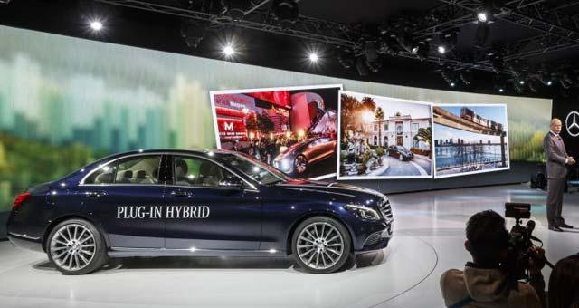 2016 Mercedes-Benz C 350 PLUG-IN HYBRID Unveiled in Detroit