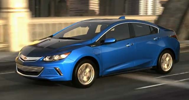 2016 Chevrolet Volt Gets 53 Miles of Range, Rated at 106 MPGe