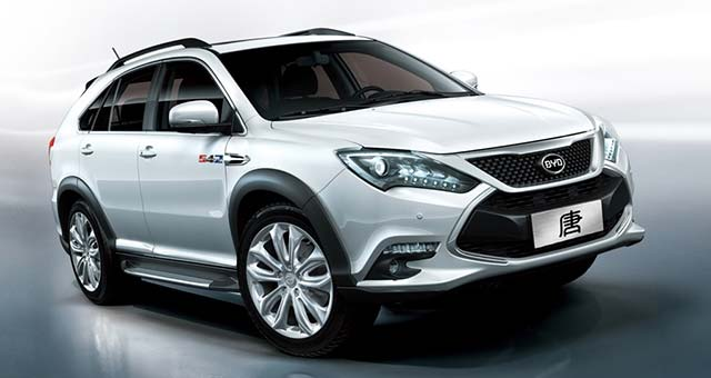505 HP BYD Tang SUV Now Available for Preorders in China