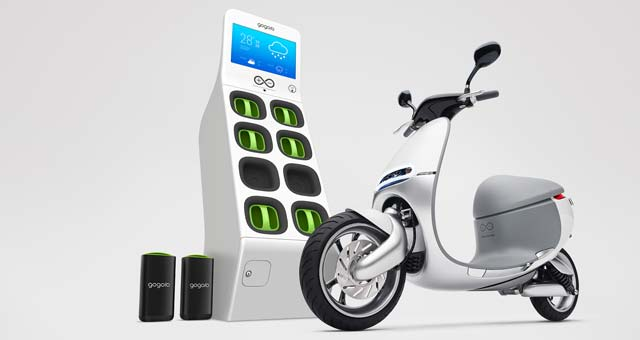 Gogoro Smartscooter is a Tesla of Scooters