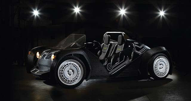 Local Motors Unveils World's First 3D-printed Car [video]