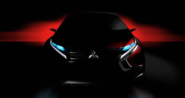 Mitsubishi Teases PHEV Crossover Concept For Geneva Motor Show