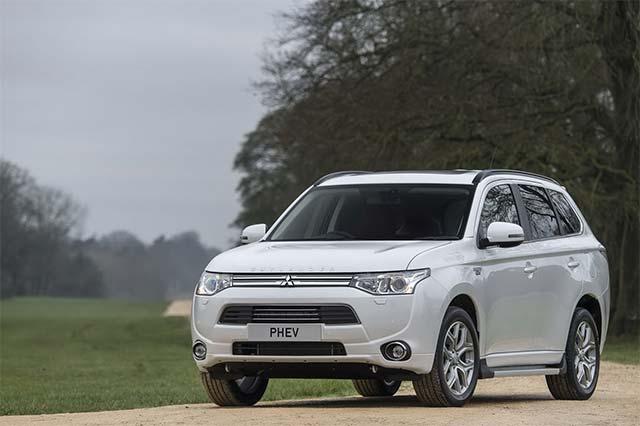 Mitsubishi UK Targets Premium Car Market With High-Spec Outlander PHEV