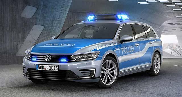 German Police Receives New Passat GTE Plug-in Hybrid