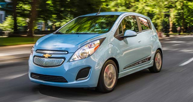 Chevy Expands Spark EV Sales to Maryland