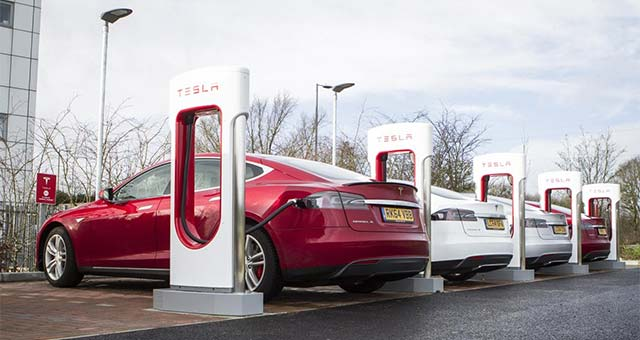 Tesla Expands Supercharger Network in the UK