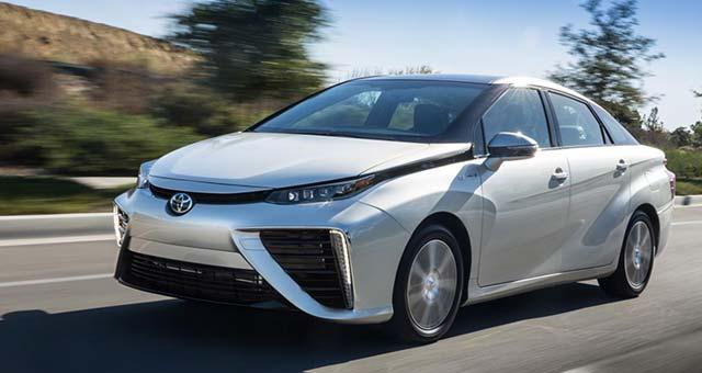 Toyota Mirai Makes East Coast Debut