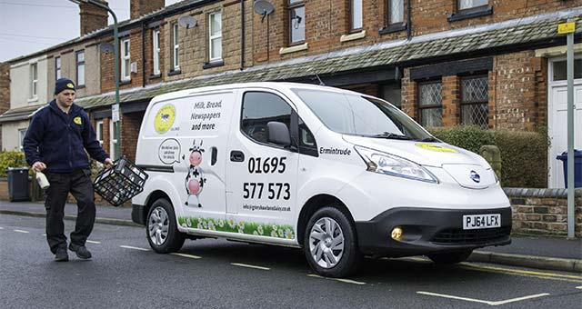 Nissan e-NV200 Is Cream Of The Crop For Dairy Deliveries