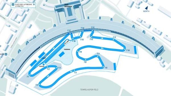 Formula E DHL Berlin ePrix Track Revealed