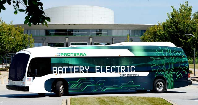 Proterra Introduces Extended-Range Electric Bus