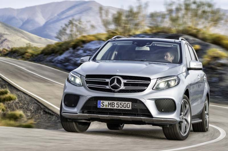 Electric cars report 2016 mercedes benz gle550e phev suv for Mercedes benz gle550e