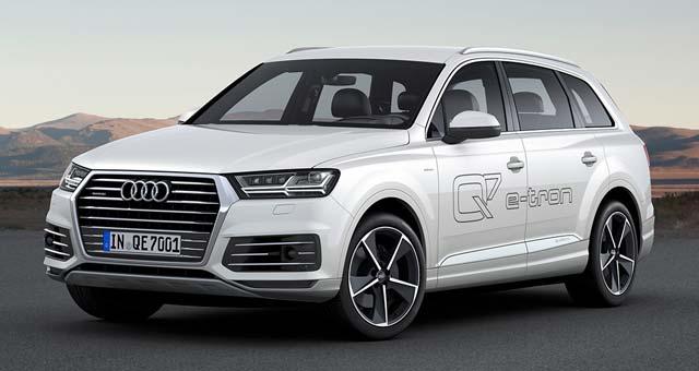 Audi Q7 e-tron quattro Unveiled