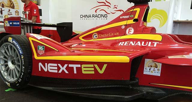 China Racing to Run NextEV Powertrain in Next Formula E Season