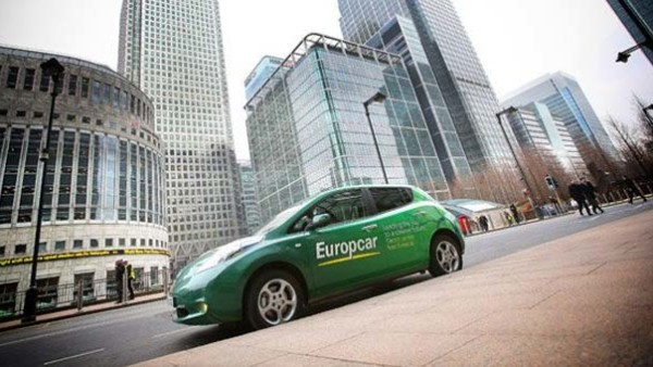 Europcar Expands EV Options In London With Nissan LEAF Launch