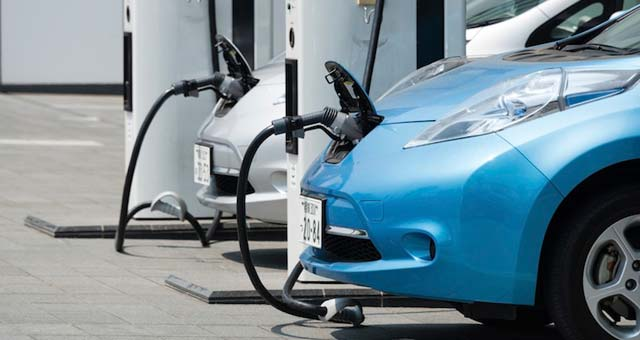 How do you charge an electric car?