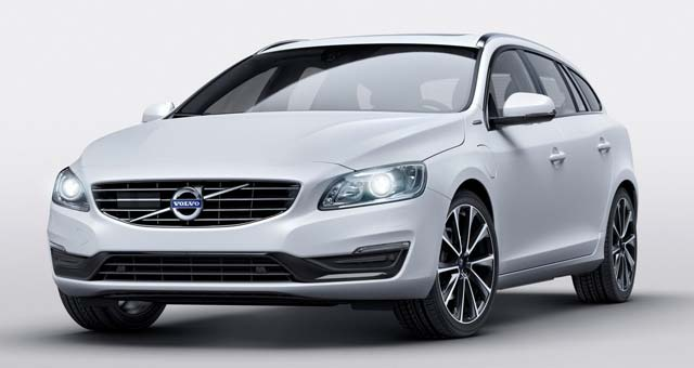 Volvo Unveils New V60 D5 Twin Engine Special Edition In Geneva