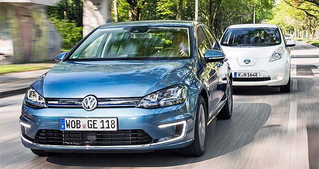 e golf dethrones leaf as europe s top selling electric car. Black Bedroom Furniture Sets. Home Design Ideas