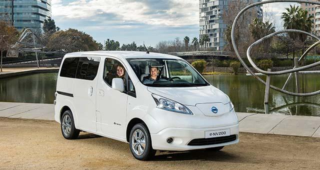 Nissan e-NV200 Wins Trade Van Driver Award