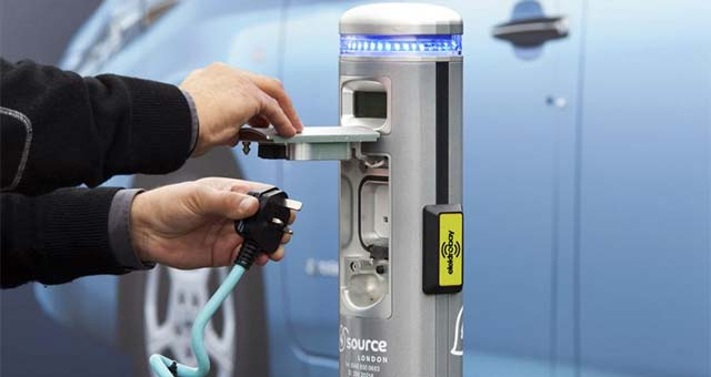 Number Of Electric Charge Points For Cars Across The World