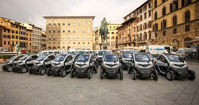 Renault Sells 15,000th Twizy in Florence
