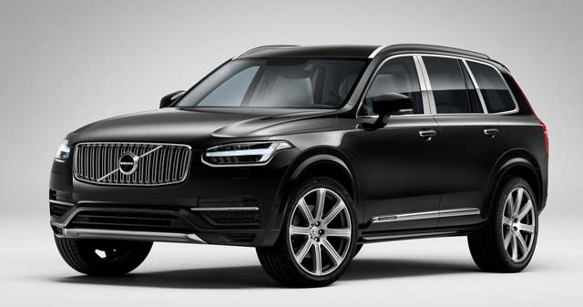 luxurious volvo xc90 excellence revealed. Black Bedroom Furniture Sets. Home Design Ideas