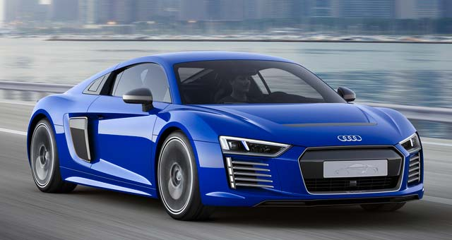 Audi R8 e-tron Piloted Driving Concept Unveiled at CES Asia [video]
