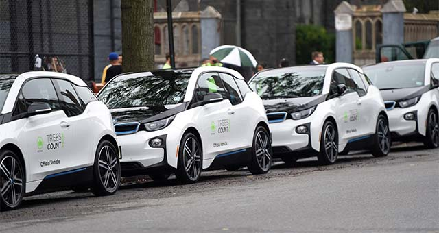 BMW Donates 20 BMW i3 EVs to Support NYC TreesCount! 2015 ...