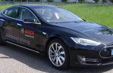 Bosch Develops Autonomous Driving Tech for Tesla Model S (w/videos)