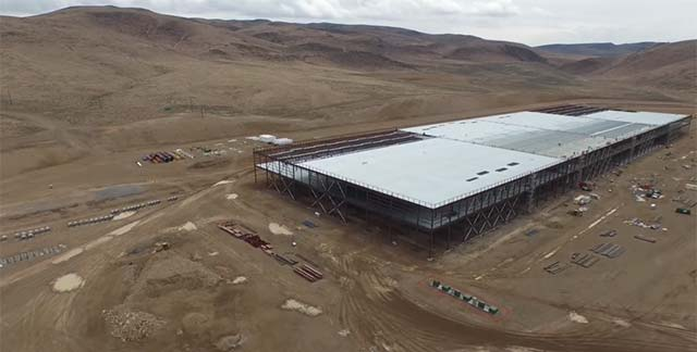 Check Out This Tesla Gigafactory Drone Flyover