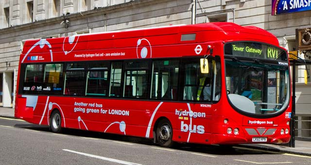 Ballard to Operate and Support Fuel Cell Bus Fleet in London