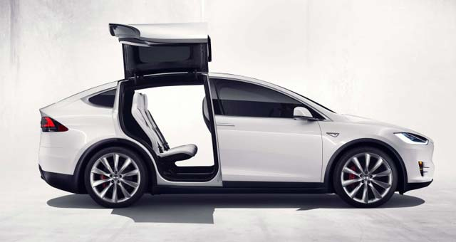 Tesla Model X Officially Unveiled Videos