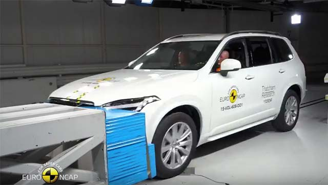 Five Stars For New Volvo XC90 and Audi Q7 In Euro NCAP Crash Test