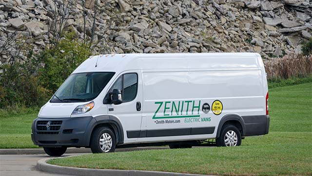 Dhl Express Usa Is Ordering 45 All Electric Delivery Trucks From Zenith Motors A Manufacturer Of Shuttle Vans Ed By Uqm Phase Pro 135