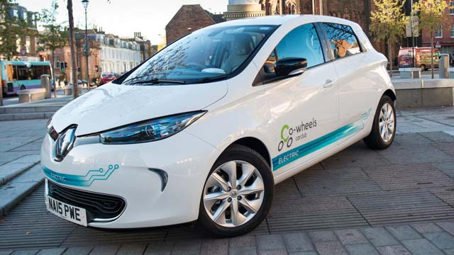20 renault zoe evs added to co wheels fleet e hike. Black Bedroom Furniture Sets. Home Design Ideas