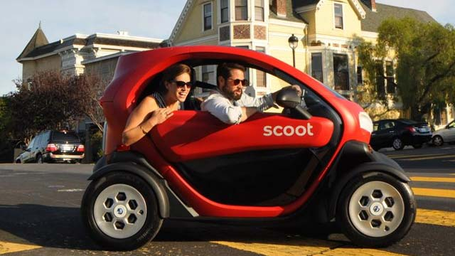 Scoot Networks Ads Nissan New Mobility Concept to its Fleet