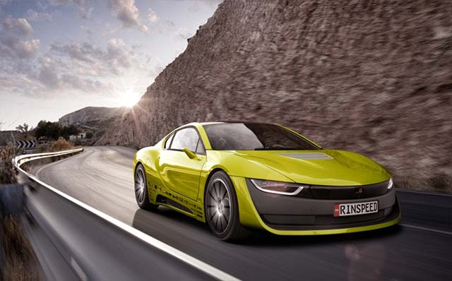 Rinspeed Etos Is A Self Driving Bmw I8 With Its Own Drone