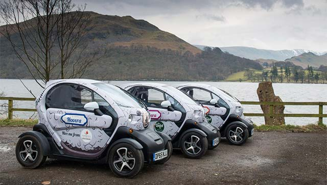 renault twizy at the forefront of sustainable travel in the lake district. Black Bedroom Furniture Sets. Home Design Ideas