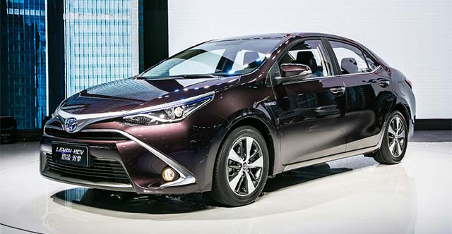 Toyota Motor Corp Will Launch Plug In Hybrid Versions Of The Corolla And Levin Two M Market Models China During 2018 Announcement Was Made At A