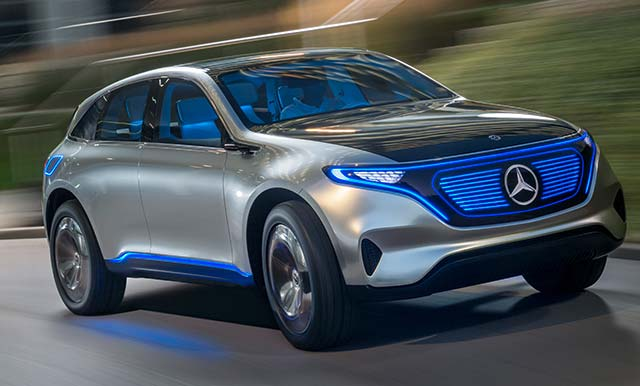 Mercedes Benz New Ev German Automaker Takes On Tesla