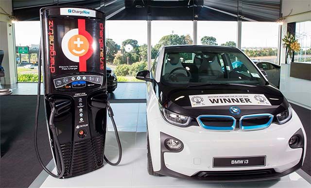 Bmw And Charge Net To Create Electric Highway In New Zealand By