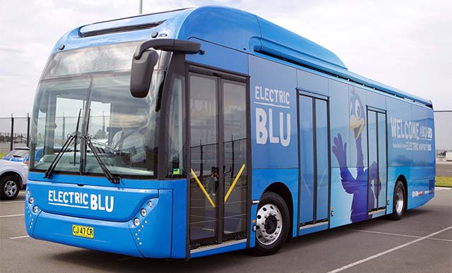 Blue Emu Car Park Shuttle Bus