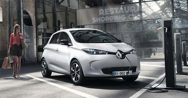 renault zoe with new battery gets 400 km range. Black Bedroom Furniture Sets. Home Design Ideas