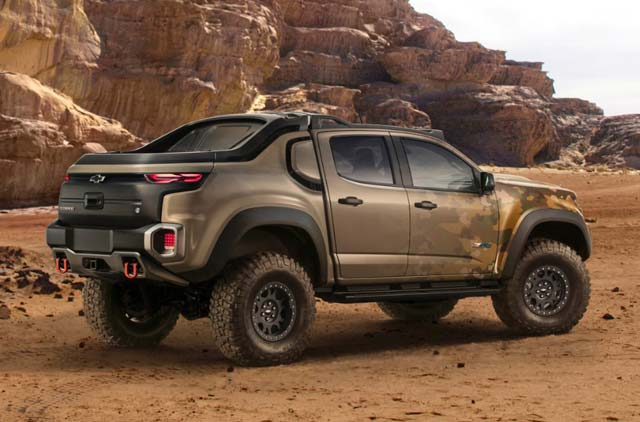 Chevrolet Colorado Zh2 Fuel Cell Vehicle Breaks Cover At Us Army