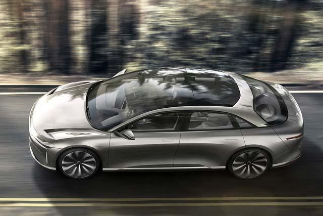 Lucid Air Luxury Electric Sedan Revealed Mile Range Mph