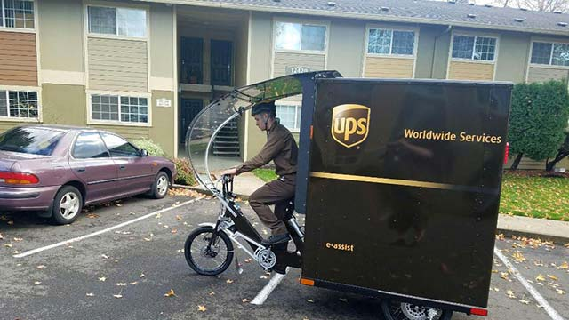 First UPS US Delivery eBike Debuts In Portland, Ore    E-Hike
