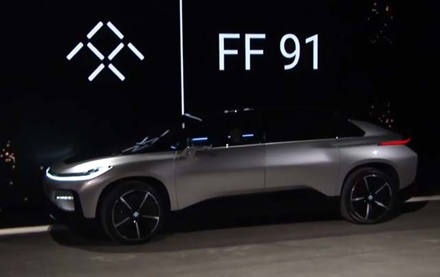 Faraday Future Reveals 1050 Hp Ff 91 Electric Car