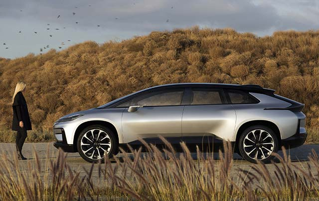 Faraday Future reveals 1050-hp FF 91 electric car   E-Hike